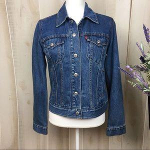 Levi's Women's Denim Jean Fitted Jacket